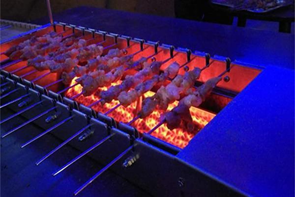 自动电烤炉,自动烧烤机,自动翻转烧烤机,
