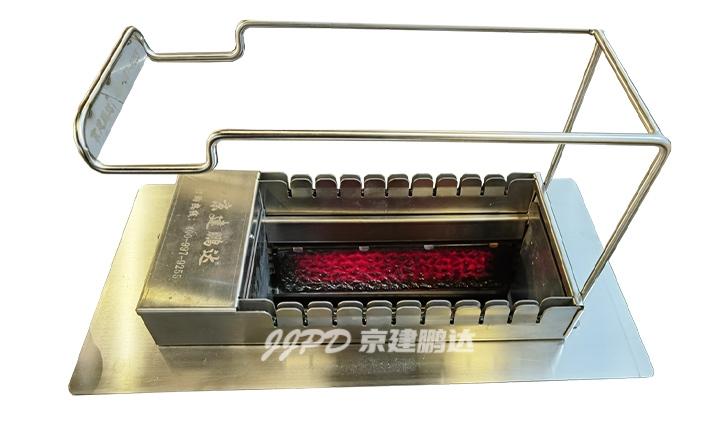 2021年新款10串火山石无烟电烤炉